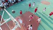 青春斗:郑爽篮球场看男友徐洋打篮球,徐洋这波操作真的是帅呆了