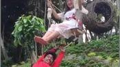 巴厘岛网红秋千,一个字刺激