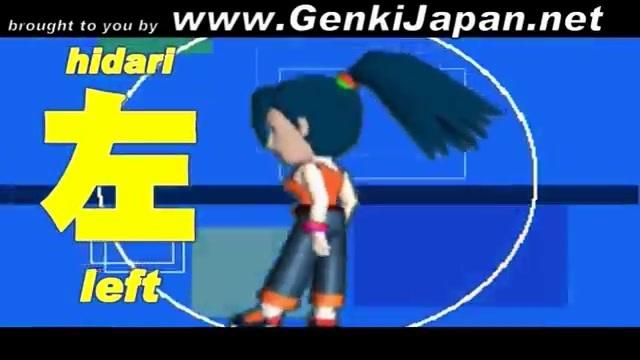 Learn Japanese- Left, Right, Forward, Back GenkiJapan.net