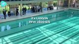 -IF时尚-:巴黎,if 受邀 LANVIN 2020春夏男装秀,该系列以似火骄阳为主题,航海少年即