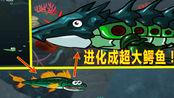 小鱼的进化:大鱼吃小鱼进化成了一只超级巨型鳄鱼!
