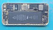 拆机iPhone5S,手机发热严重掉电快,原来是USB控制管发生漏电