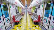 杭州动漫地铁专列
