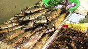 山东大叔煎深海2000米鲅鱼, 19年前月入1万多, 开店倒闭开始摆摊