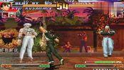 拳皇97:草薙京连出大蛇薙,大蛇对他也是无能无力