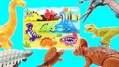 恐龙们拼装侏罗纪世界恐龙拼图