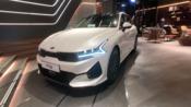 【家用买菜车栏目】一起来看看2021年的新起亚k5汽车吧