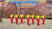 踏歌起舞巩义朝霞舞队32步现代舞
