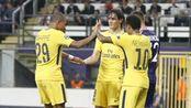 欧冠-内马尔破门姆巴佩传射 巴黎4-0豪取三连胜