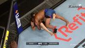 7.UFC 格斗之夜156 Prelim次中量级-Gilbert Burns战胜Alexey Kunchenko
