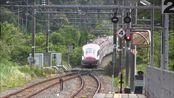 秋田新干线E6系小町号通过在来线8站