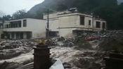 四川汶川境内暴雨引发泥石流 已致4人遇难11人失联
