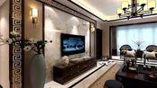120平米花40万装新中式风,客餐厅高贵典雅气质十足,太漂亮了!
