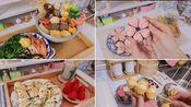 「梁右右」Vlog#22 冬日治愈日常| 一人食 | 做饭日常 | 生煎花卷&热豆浆 | 咕噜咕噜的关东煮&乌冬 | 桃花酥&蜜桃乌龙茶 | 早餐