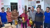 万城镇北坡村委会举行了2019年脱贫攻坚年终总结暨颁奖会
