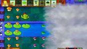 植物大战僵尸冒险模式迷雾4关 这样的夜晚有仙人掌和蘑菇就够了 塔防策略游戏