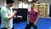 美队Chris Evans的打戏排练,身手干脆利落太帅了