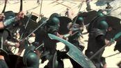 特洛伊:阿基里斯带着战士们一路往前冲,大家都很敬佩他