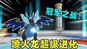 河马哥精灵宝可梦:河马哥挑战冠军河马弟,喷火龙启动超级进化了