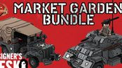 【Brickmania】Market Garden Bundle - Custom Military Lego - At The Designer's Desk