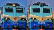 [中国铁路]鸣笛通过!|19年5月31日16:00~17:00时间段铁路上海南站韶山8下行方向通过合集