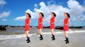 入门广场舞《天生一对》草原情歌,大气豪爽,好听更好看!
