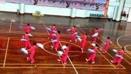 深圳市木兰协会木兰扇比赛东方半岛社区队