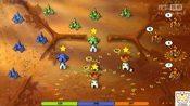【蘑菇战争】休闲策略游戏蘑菇战争第10期自由模式玩法2夺取高地,笨笨游戏录-其他游戏集合-贪吃懒睡喵