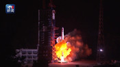 """独家视频丨嫦娥四号任务中继星成功发射 将搭建地月""""鹊桥"""""""
