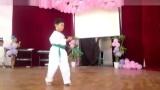 奥力武术基地学生,王子嘉跆拳道舞蹈表演