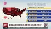 美国确诊病例超87万 特朗普称独立日庆典仍将举行