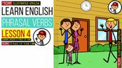 圖解英語動詞短語對話練習23集全 (初學者) - Learn Illustrated Phrasal Verbs series