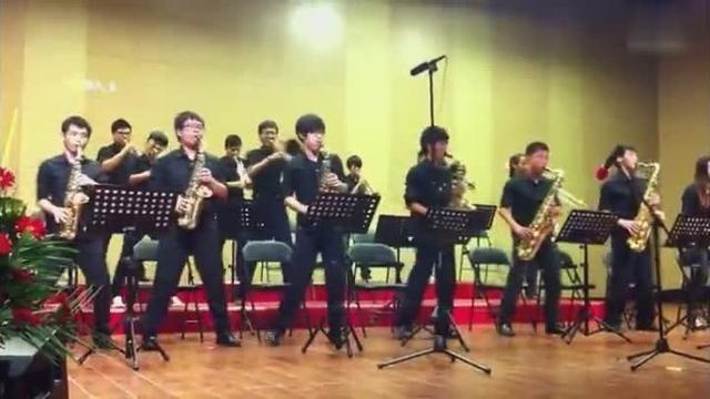 超好听的军乐团演奏《致爱丽丝》