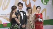 王丽坤&郑元畅《凤凰无双》上海白玉兰奖红毯秀加采访