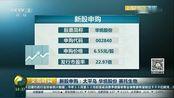 新股申购:太平鸟 华统股份 赛托生物