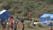 川藏交界山体滑坡形成堰塞湖