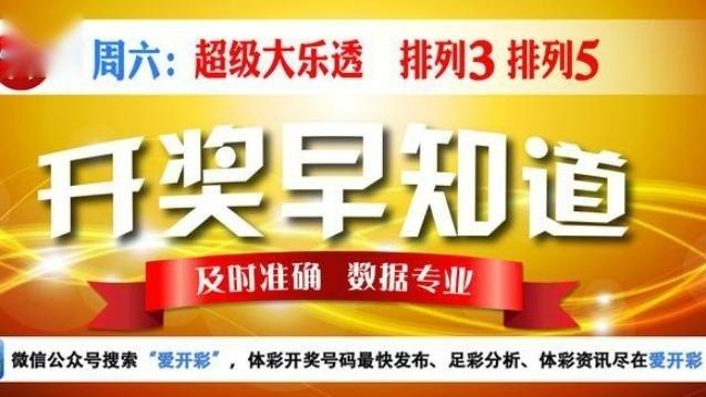 1月7日:中国体育彩票超级大乐透第17003期开奖视频
