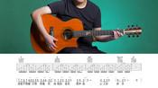 《雀跃》吉他弹唱教学自学教程G调入门版 高音教 猴哥吉他教学