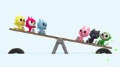 23.玩迷你力玩跷跷板玩迷你力玩跷跷板玩迷你庞电视号码玩-开心童年乐园——小怪兽迷你特工队-开心童年乐园