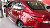 丰田新车上市,比卡罗拉漂亮,油耗4毛仅12万,还要啥大众朗逸?