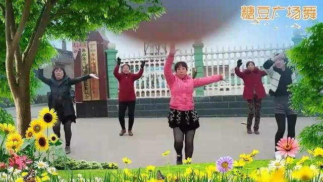 好运来广场舞舞动中国