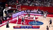 美国队单节狂输25分,现场大片空座位,16个NBA球员遭冷漠