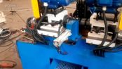 视频集锦 全自动双头钢管43倒角机调试视频-全自动双头倒角机