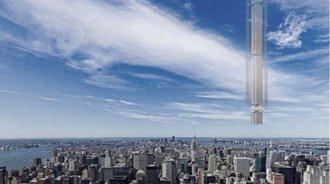 美国人又火了,要把摩天大楼倒挂在空中