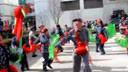 2012延安春节、蟠龙镇秧歌队在拜年1、总编导:杜修斌