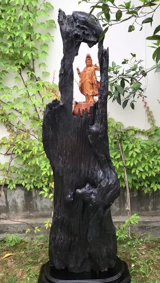 老挝花梨、滴水观音