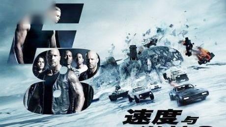 《速度与激情8》范·迪塞尔&米歇尔情侣狂飙,开场劲爆!