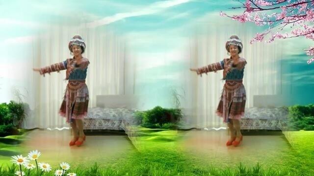 风雨阳光广场舞《我家在苗寨》