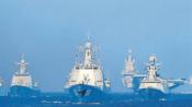 人民海军向前进 人民海軍は前進する